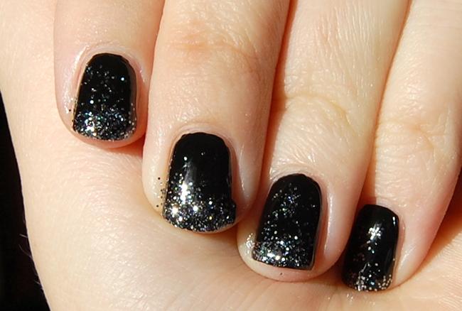 glittertippar svart 1